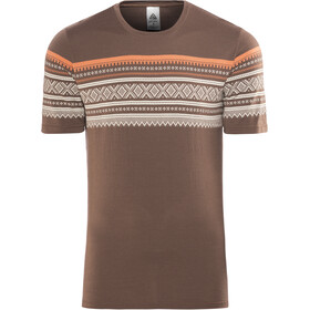 Aclima DesignWool Marius T-shirt Herre fondue fudge